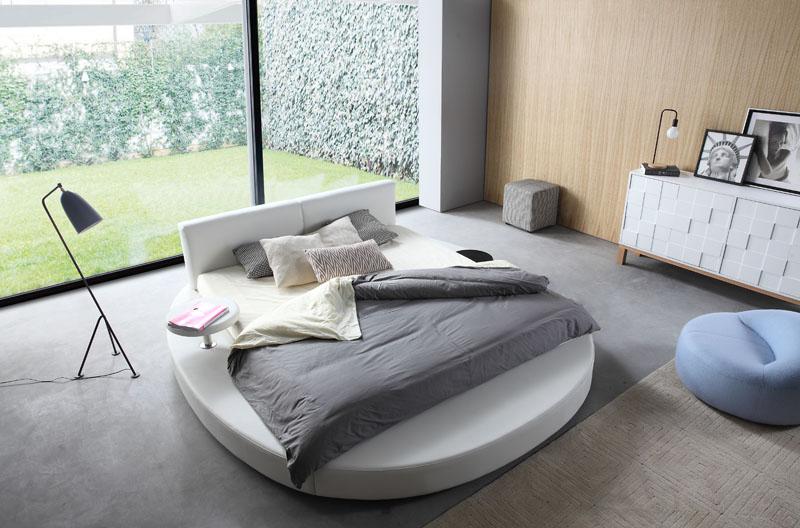 hot koop hoge kwaliteit slaapkamer meubels ronde bedden voor koop
