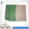 Drawstring packing raschel PE garlic mesh bag