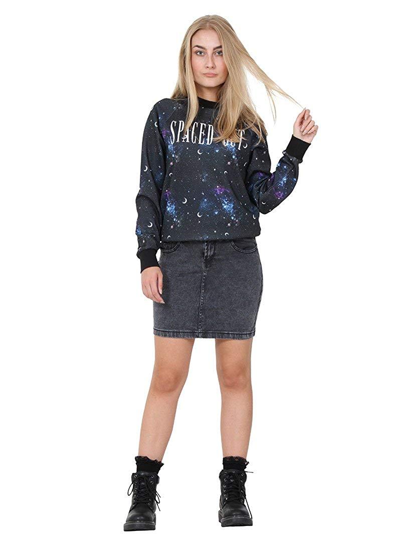 32ad3cf28c ... Long Skirt - Stonewash Full Length Maxi Blue Womens Ladies SKIRT35  49.99. Cindy H Short Denim Skirt Faded Black Denim Mini Skirt Jean Skirt