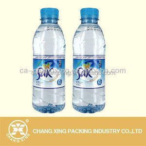 Factory price custom printed PVC PET heat shrink rap bottle sleeve for packing beverage bottles