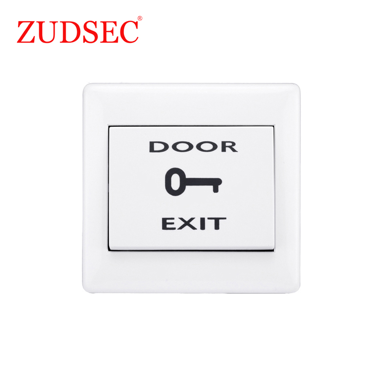 Security & Protection Capable Eseye Door Exit Button Push Exit Release Button Switch For Rfid Door Access Control System No Com Plastic Panel And Exit Button Sophisticated Technologies
