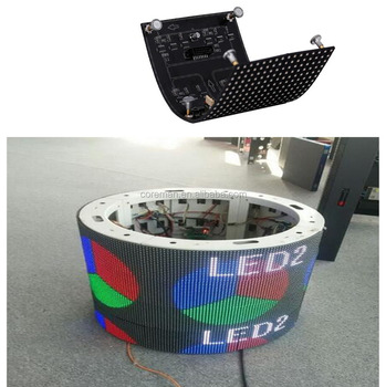 best price p3 p4 p5 p6 p7 p8 p10 advertising led display outdoor X V special shape soft led module panel