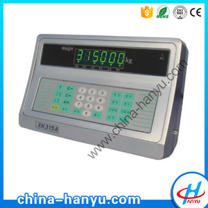 XK315A2 digital electronic plastic housing led indicator weighing machine