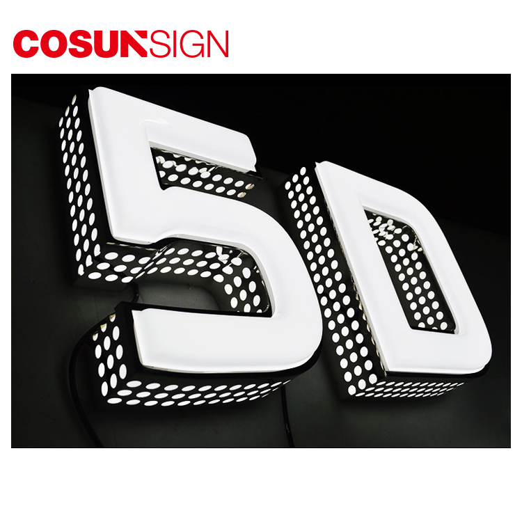 Stainless Steel Letter Board Request Illuminated Arabic Foam Letter For Decoration