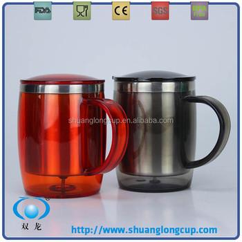 450 Ml 16 Oz Stainless Steel Promotional Travel Mug Contigo Thermo Thermos Insulated