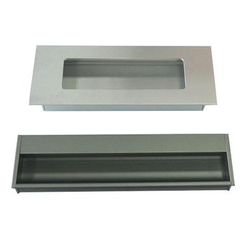 Aluminium Flush Pull Griff Einbau Tür Griff Verborgen Tür Griff Für ...