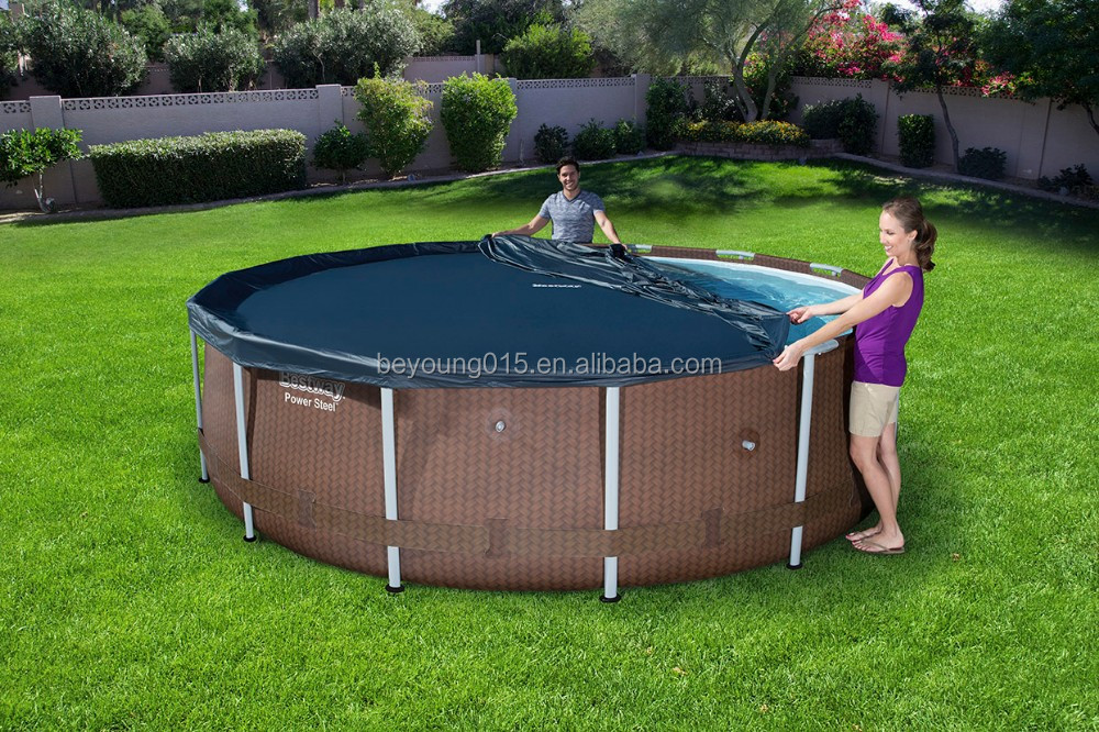16ft X10ftx42in Stahlrahmen Oval Pool Set,Oval Oberirdische ...