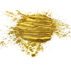 Pure 24K gold sparkle appearance pearlescent pigment mica powder