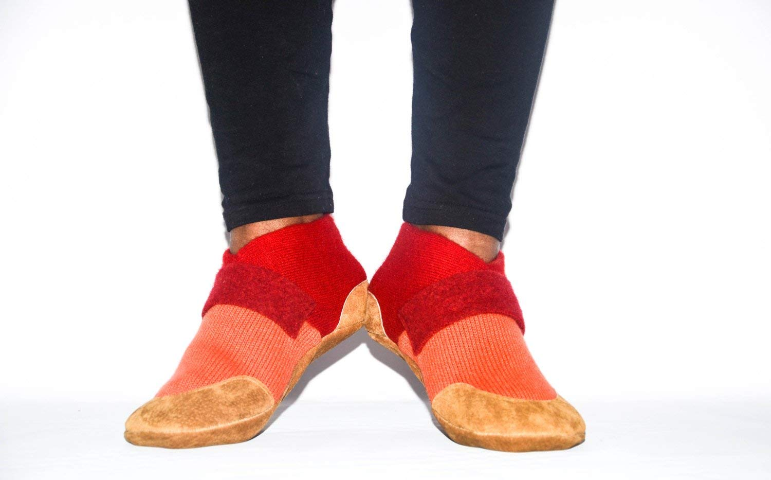 Unisex Cashmere Shoes from Recycled Materials, Eco-friendly Men & Women Valentines Cashmere Shoes