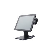 Factory white MSR optional touch monitor screen pos