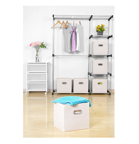 Factory OEM Foldable Clothing Storage Bins Drawers Storage Clothes Bins  Decorative Cardboard Storage Boxes With Lids