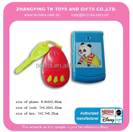 2017 Hot Sale Plastic Phone Toy With Keys For Kids