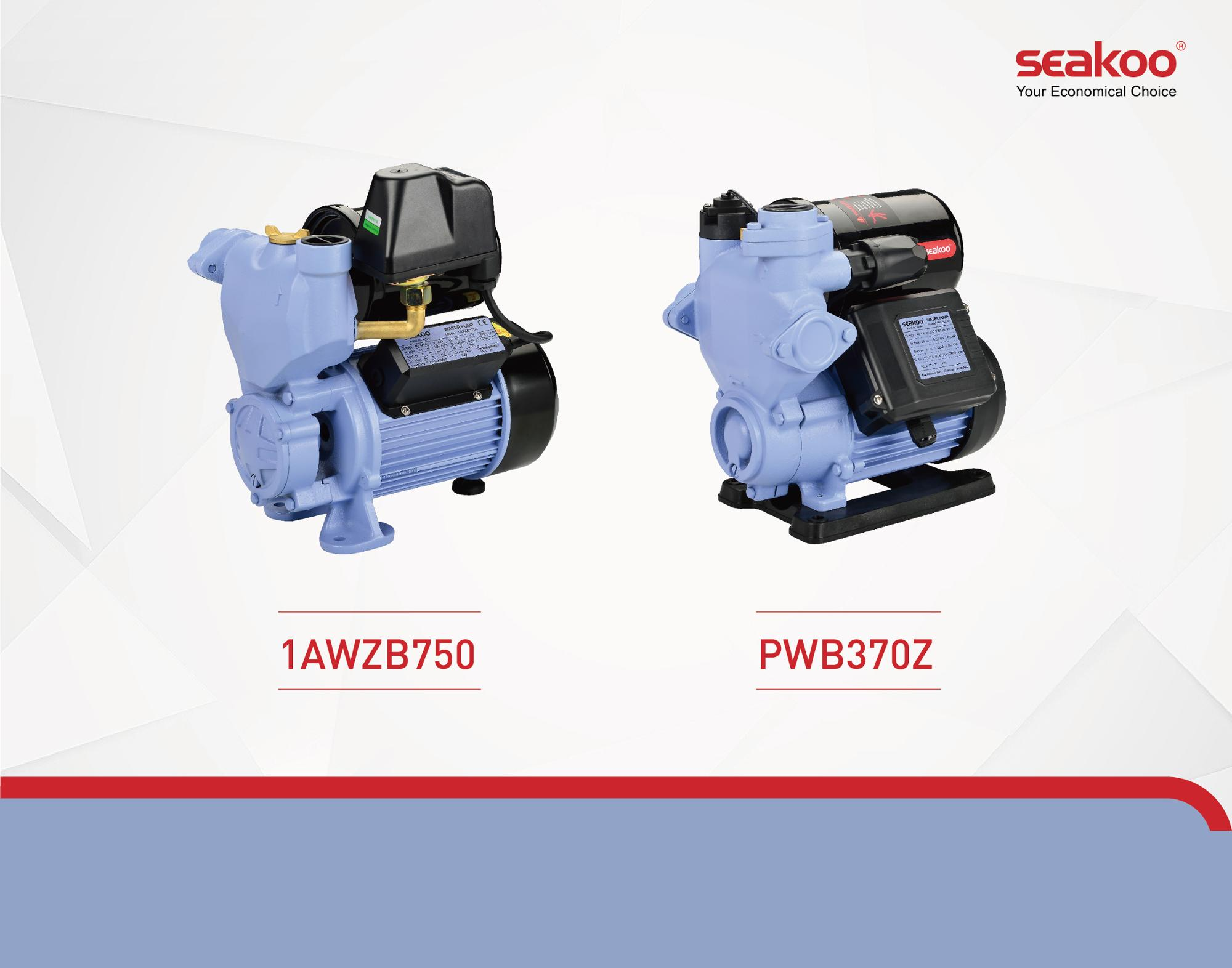AWZB AUTOMATIC SELF-PRIMING PERIPHERAL PUMPS