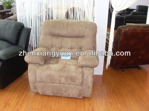 2016 Living room products Lazyboy Style Microfiber recliner handel arm chair pulling the lever