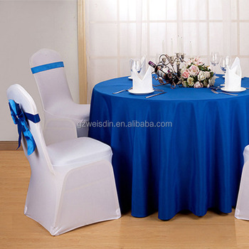 Alibaba & Weisdin Traditional White Wedding Decoration Chair Covers And Table Covers In Guangzhou - Buy White Chair CoverWedding Decoration Chair Covers And ...