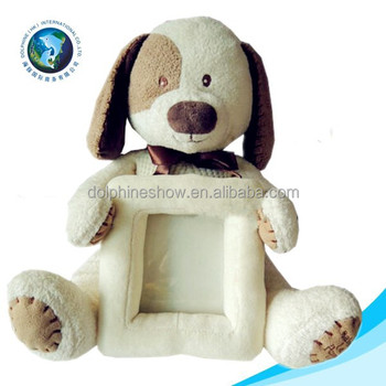 2015 Soft Dog Plush Toy Dog Stuffed Animal Photo Frame Buy Stuffed
