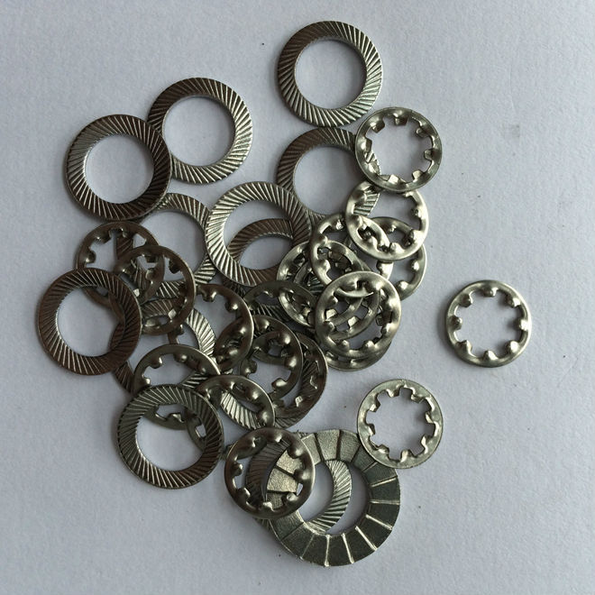 Multi Tooth Lock Washers / Internal Star Lock Washer