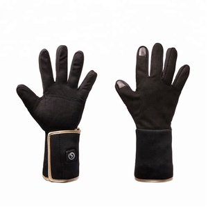 SNOWWARM Winter Electric Heated Gloves Rechargeable Li-ion Battery Waterproof Insulated Heating Thermal Arthritic Men Women