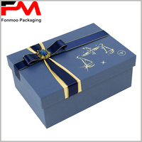 Custom design professional gift cardboard boxes for hair extension