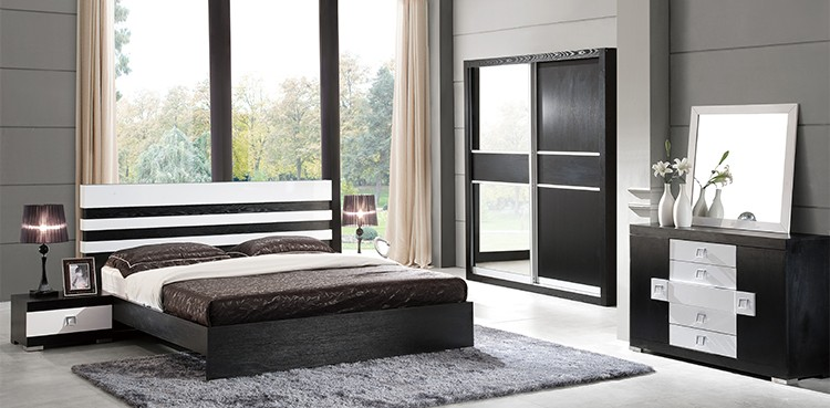 Wardrobe Bedroom Design Royal Home Furniture Wooden Double Color