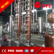 colume still steam spirit distillation equipment unit