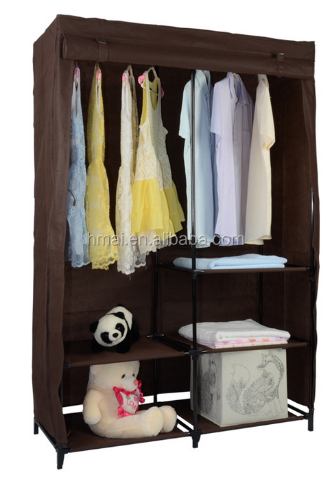 Modern bedroom clothes cabinet,Non-woven fabric cloth wardrobe