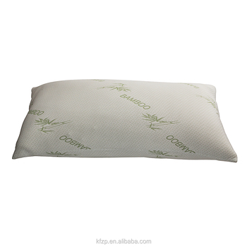 5star hotel breathable queen size shredded memory foam bamboo pillow