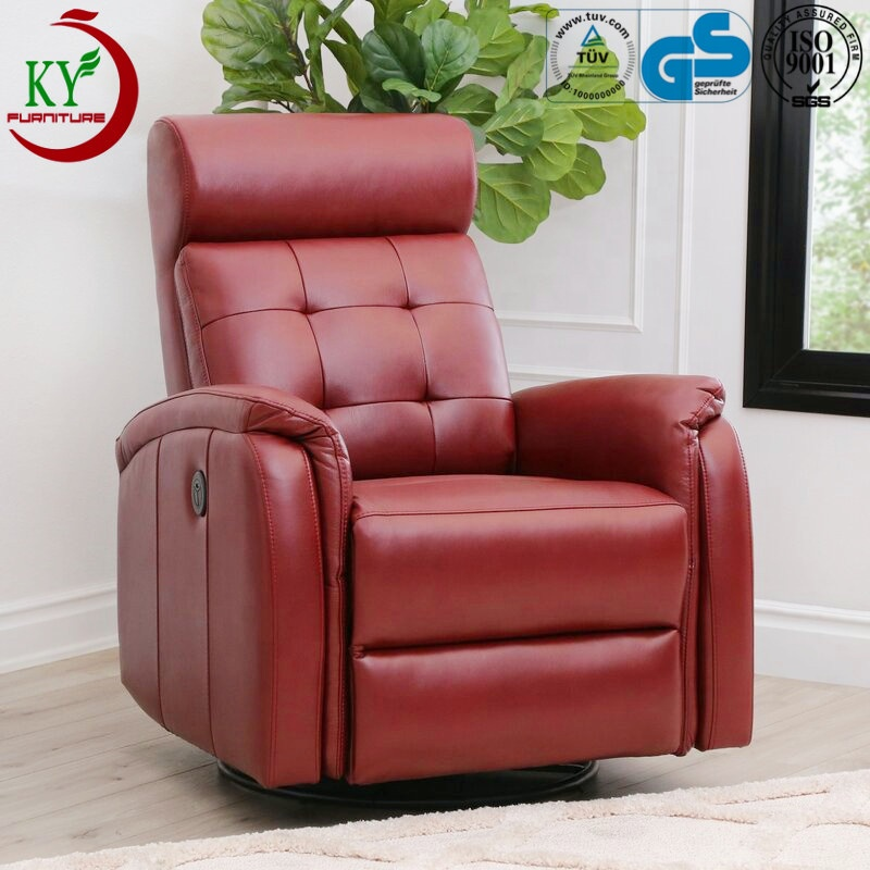 Jky Furniture Modern Design Home Theater Leather Electric