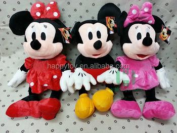 Förderung Puppen Plüsch Riesigen Mickey Maus Spielzeug Minnie Maus