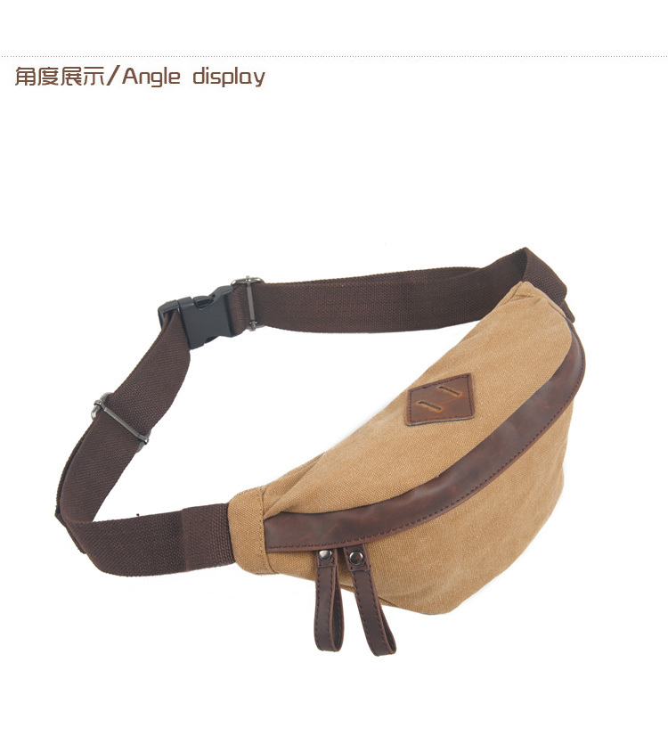 Custom sports waist bag funny pack wholesale