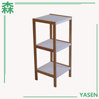 Yasen Houseware Wooden Mug Display Rack,Wall Mounted Cd Rack,Dvd Display Rack