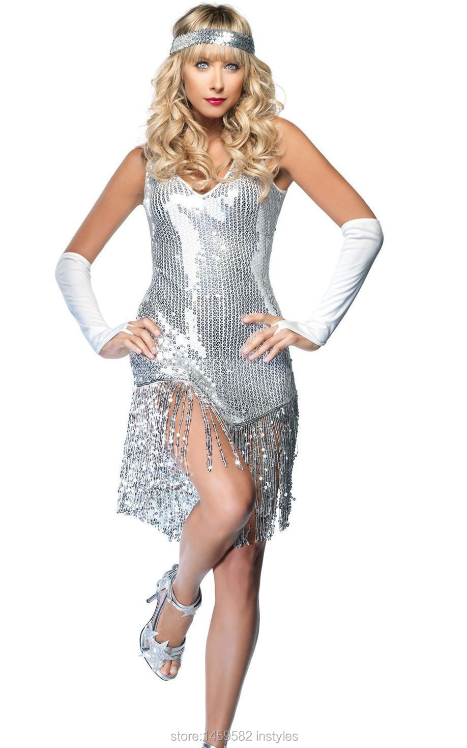 ... Girl Costume In Sequined Free shipping sequined sleeveless dress.  F1198-1 F2090  7.12 ... a6cc8ffc9d0d