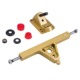 Maxfind Electric skateboard longboard Parts aluminum truck 1 pair gold color OEM/ODM/drop shipping
