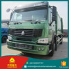 9.726L Displacement howo 290HP international garbage truck / 4*2 garbage truck