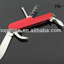 5 functions aluminum handle Multifunction pocket knife