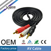 SIPU best price 3.5mm stereo to 2 RCA TV out AV cable