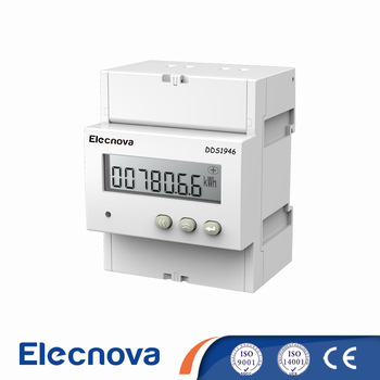 Elecnova DDS1946 ct connect 5(100) A 1 phase digital din rail power meter