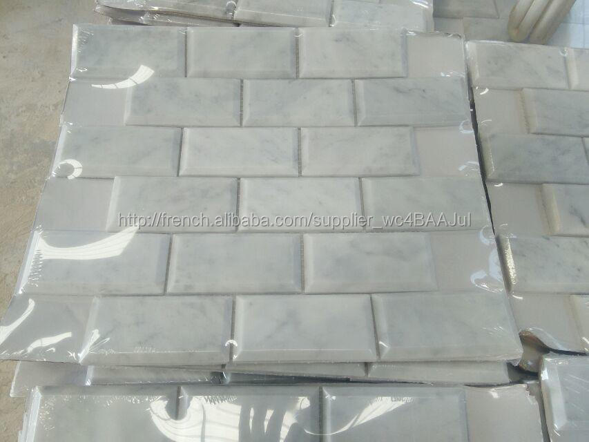 planchers de salle de bains bianco carrara carreaux cararra blanc carreaux de marbre de marbre