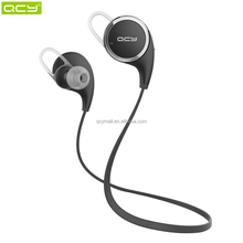 QCY bluetooth v4.1 bluetooth headset QY8, bluetooth both ear headset microphone, samsung wireless headset for all smart phone