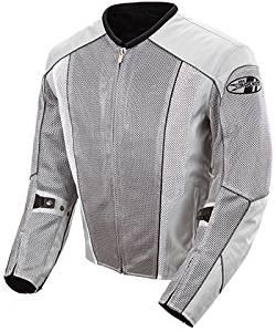 Joe Rocket Phoenix 5.0 Mesh Motorcycle Jacket Silver/Silver