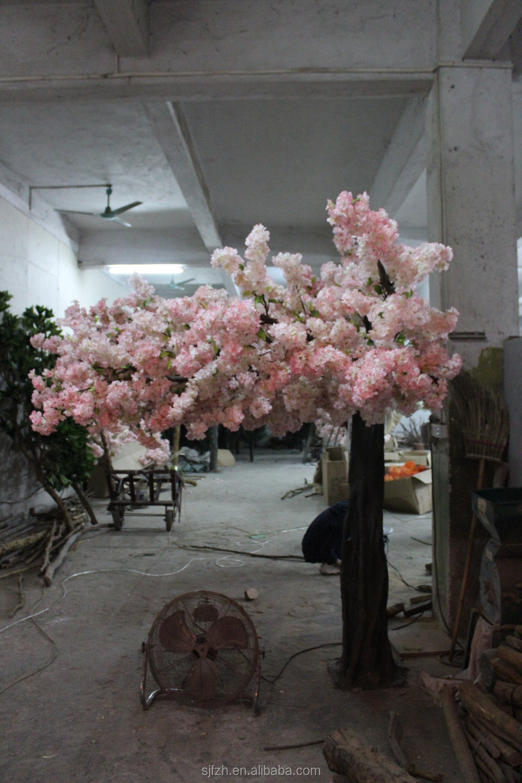 Customized Artificial Wedding Arch At Hotel Decor Cherry Blossom Bonsai Tree
