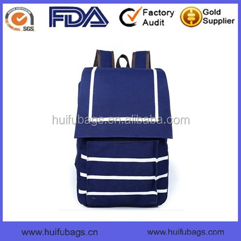 Best quality canvas backpack bag fashion factory directly sale backpack scool bag