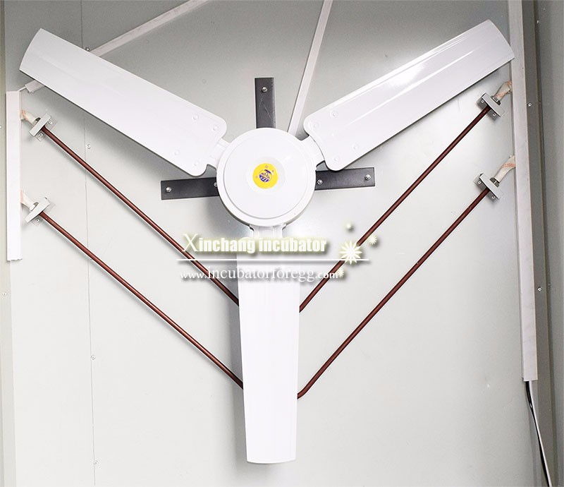 DeZhou high temperature fan of big egg incubator