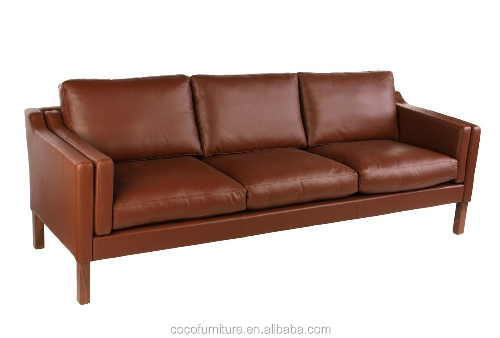 Borge Morgensen leather sofa