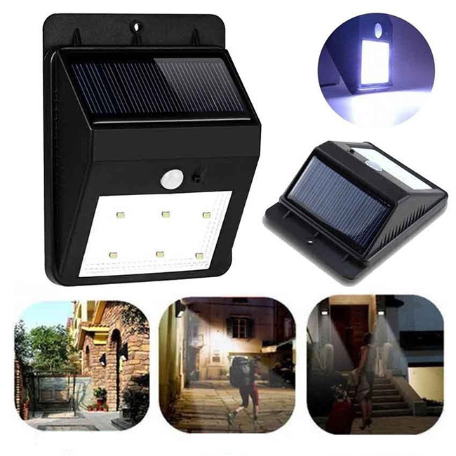 CE RoHS FCC Best Price Product Motion Sensor Led Solar Outdoor Fence Light