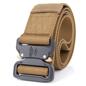 IMG0914 Small Tan Tactical Military Assault Gear Cobra Belt Buckle for Riggers Belt