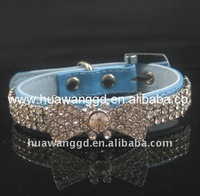 luxurious crystal bowtie pet collars,dog products,cat collar