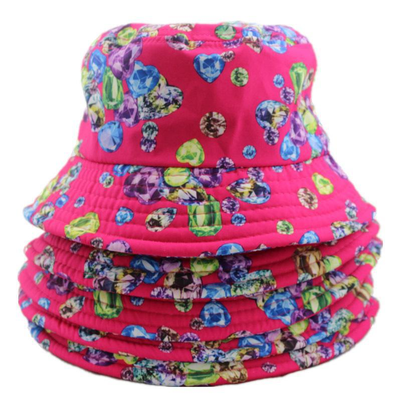 Plain Bucket Hat Wholesale Custom Cool Blank Floral Bucket Hats With