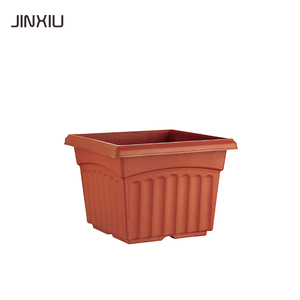 plastic square injection moulded flower plastic nursery pots