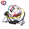 Rotary amusement ride automatic human gyroscope ride game of desire